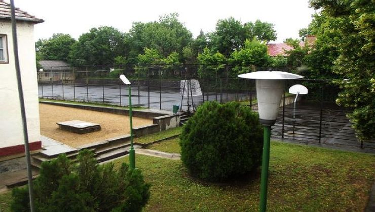 Gólyatábor - Balatonszemes Üdülő Tábor - Sportpályák