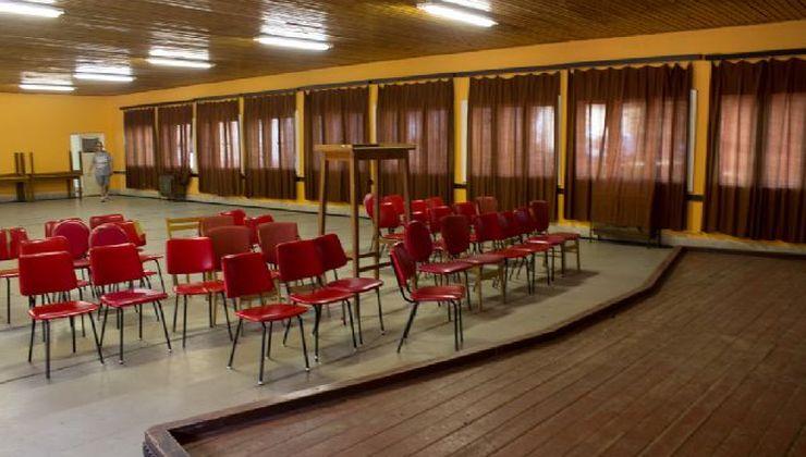 Gólyatábor - Balatonszemes Üdülő Tábor - Terem