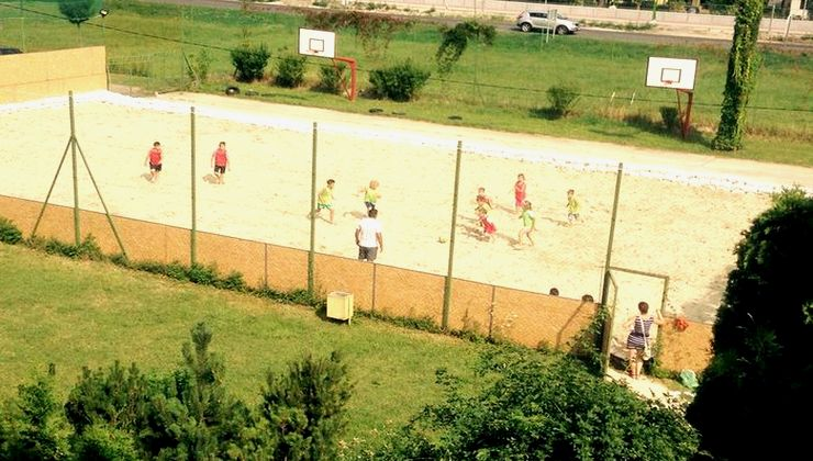 Gólyatábor - Siófok Ifjúsági Hotel - Tábor - sportpálya
