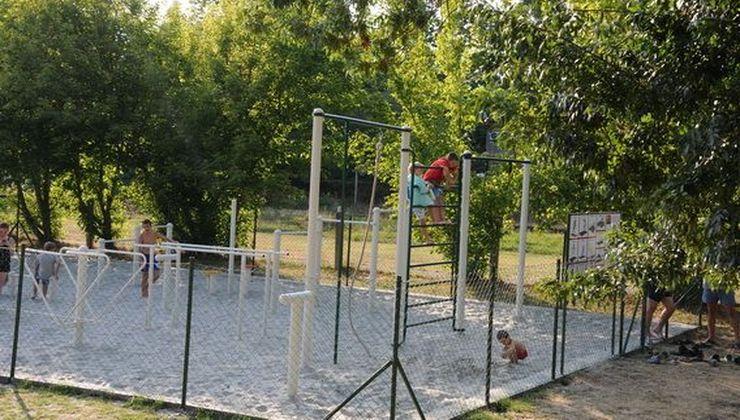 Gólyatábor helyszínek - Balatonszemes P. Ifjúsági Tábor - kondipark