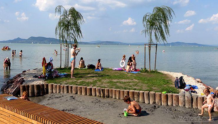 Gólyatábor - Fonyód Ifjúsági Tábor - strand 3